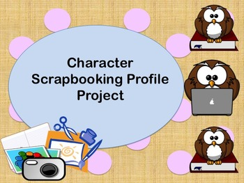 Character Scrapbooking Profile Project