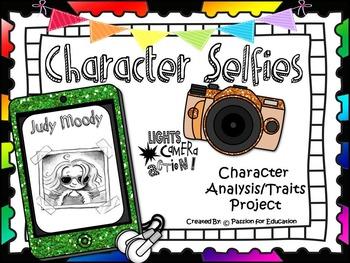 Character Traits (Character Selfies Project & Bulletin Board Set)