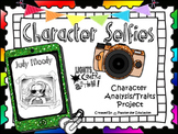 Character Traits (Character Selfies Project & Bulletin Board Set)