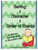 1st grade Character & Setting