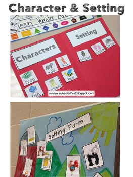 First Grade Reading: Character & Setting