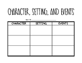 Character Setting Events