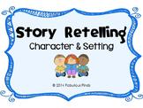 Character & Setting Graphic Organizer