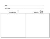 Character/Setting Graphic Organizer