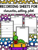 Character Setting Plot Map