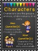 Character, Setting, Plot Posters and Flipbook