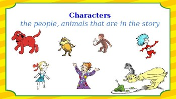 Character, Setting, Problem, and Solution Graphic Organizer