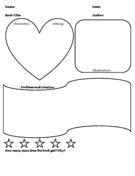 Character, Setting, Problem, and Solution - Plot Chart
