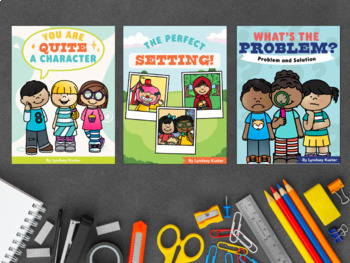Character, Setting, Problem and Solution - THE BUNDLE!