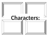 Character, Setting, Sequencing, books