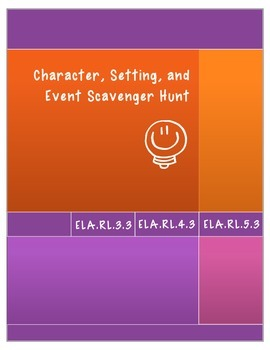 Character, Setting, and Event Scavenger Hunt