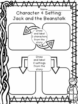 Character & Setting using Fairy Tales: Flipchart & Worksheets
