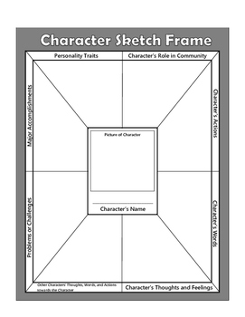 Character Sketch Frames