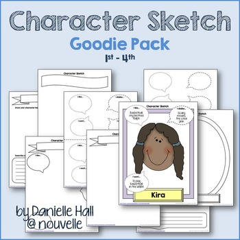 Character Sketch Goodie Pack (1-4)