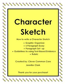 Character Sketch Guided Instruction