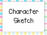Character Sketch PPt