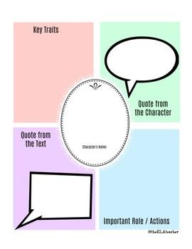 Character Sketch - Short Story or Novel