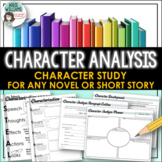 Character Analysis and Characterization Activity
