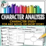 Character Analysis / Study and Characterization Activity