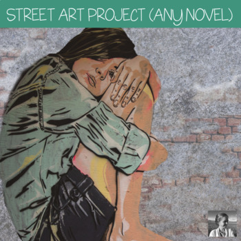 Character Street Art Project for Middle and High School English