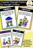 Character Strength Cards / Posters for Kids - Positive Education #ausbts18