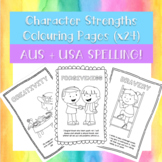 Character Strengths Colouring Pages (x24)