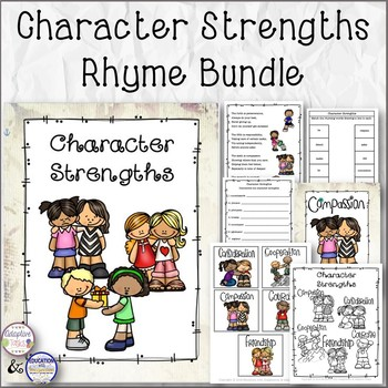 Character Strengths Rhyme Bundle