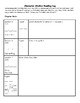 Character Studies Reading Log for Independent Reading (Luc