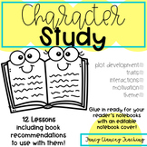 Character Study 3rd grade or 4th grade