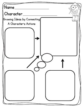 Character Study {Graphic Organizers & Reading Response}
