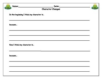 Character Study Packet
