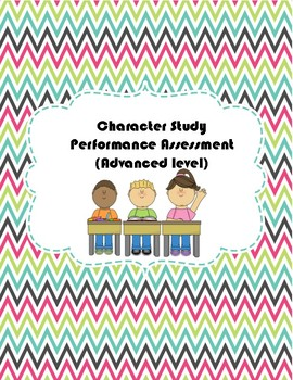 Character Study Performance Assessment in Chinese (Advanced, Common Core)