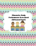 Character Study Performance Assessment in Chinese (Advance