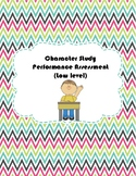 Character Study Performance Assessment in Chinese (Low, Co