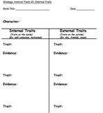 Character Study: Seven Graphic Organizers