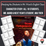 Character Study Squares for Bronx Masquerade