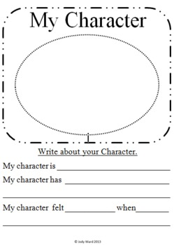 Character Study Super Pack of Worksheets