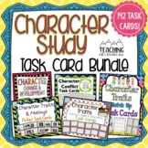 Character Study Task Card Bundle