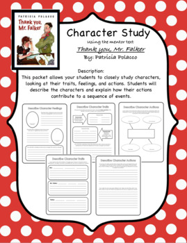 Character Study - Thank you, Mr. Falker