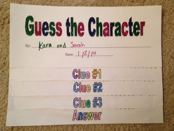 Character Study Using Clues