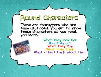 Character Study~Round~Flat~Character vs. Character