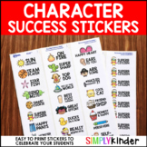 Character Success Stickers