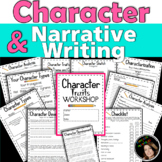 Character Traits Graphic Organizer Workshop With Narrative Writing Activity