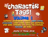 "Character ""Tags"" Lit/Novel Activity: Family Guy, Twilight, Superhero"