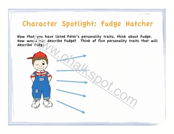 Tales of a Fourth Grade Nothing Power Point: Character (CCSS Aligned)