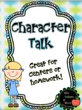 Character Talk Analysis FREEBIE