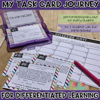 Character Task Cards (Differentiated)