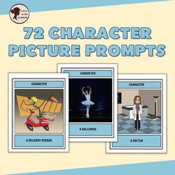 Character Task Cards for Drama and Role Plays