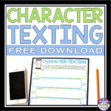 FREE CHARACTER ASSIGNMENT FOR ANY STORY - CHARACTER TEXTING