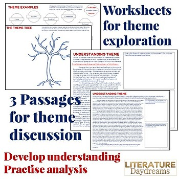 Themes in Literature Review Activity use with any text
